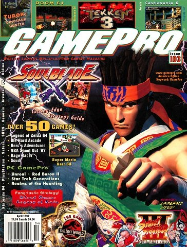 Updated Release: GamePro Issue 103 (April 1997)