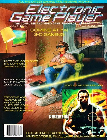 New Release - Electronic Game Player Issue 3 (July-August 1988)