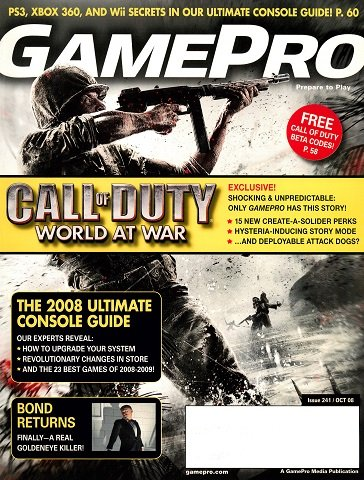 New Release - GamePro Issue 241 (October 2008)