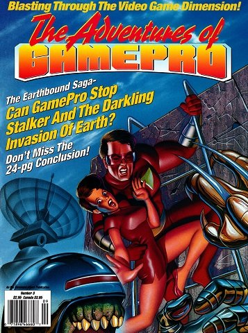 New Release - The Adventures of GamePro Issue 3 (August 1991)