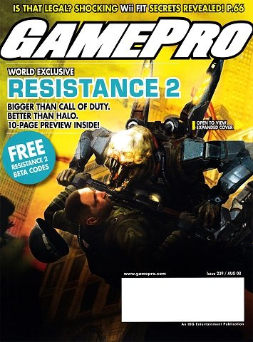 New Release - GamePro Issue 239 (August 2008)
