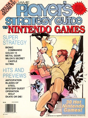 New Release - Game Player's Strategy Guide to Nintendo Games Volume 2 Number 3 (June-July 1989)