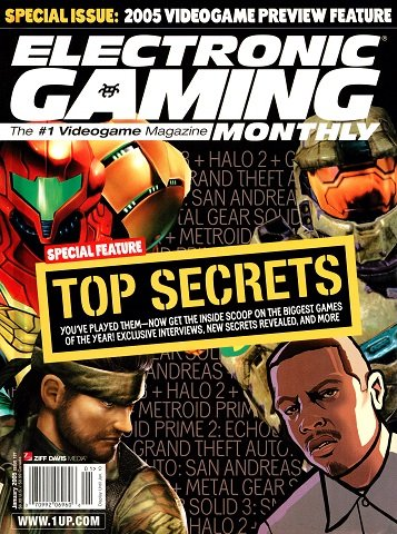 New Release - Electronic Gaming Monthly Issue 187 (January 2005)