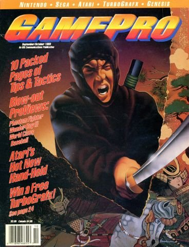 Updated Release: GamePro Issue 003 (September/October 1989)