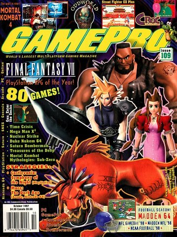 Updated Release: GamePro Issue 109 (October 1997)