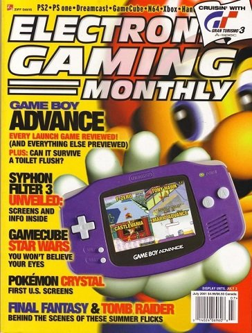 New Release - Electronic Gaming Monthly Issue 144 (July 2001)
