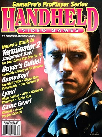New Release - GamePro's Handheld Video Games Issue 2 (October-November 1991)