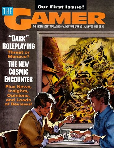 New Release - The Gamer Issue 1 (January/February 1992)