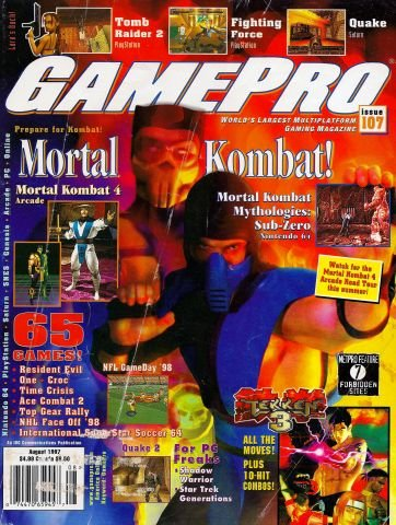 Updated Release: GamePro Issue 107 (August 1997)