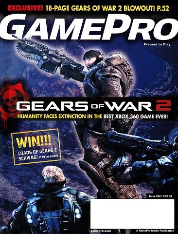 New Release - GamePro Issue 242 (November 2008)
