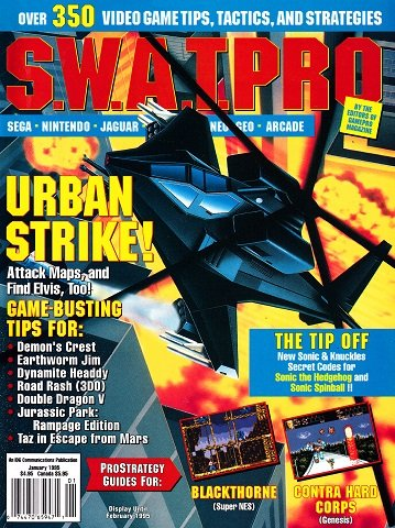 New Release - S.W.A.T.Pro Issue 21 (January 1995)