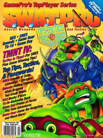 New Release - S.W.A.T.Pro Issue 07 (August-September 1992)
