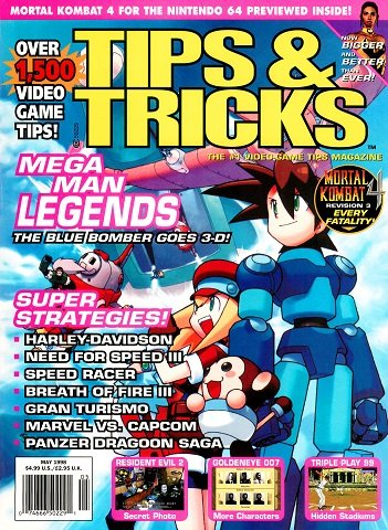 New Release - Tips & Tricks Issue 039 (May 1998)
