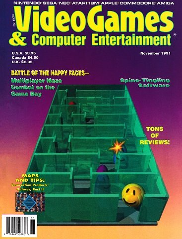New Release - Video Games & Computer Entertainment Issue 34 (November 1991)