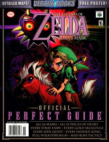New Release - The Legend of Zelda Majora's Mask - Official Perfect Guide