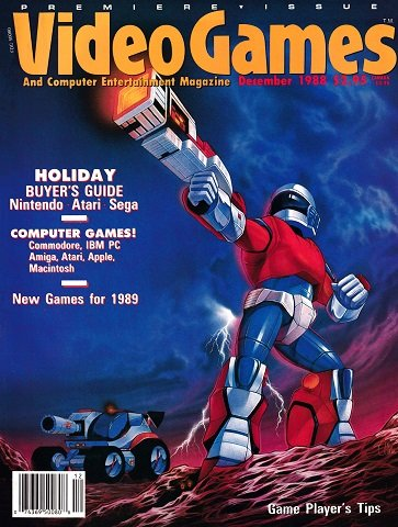 New Release - Video Games & Computer Entertainment Issue 01 (December 1988)