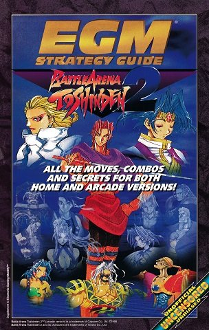 New Release - EGM Strategy Guide - Battle Arena Toshinden 2